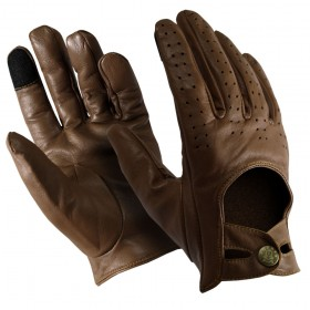 Executive Leather Gloves with Touch Screen Capabilities